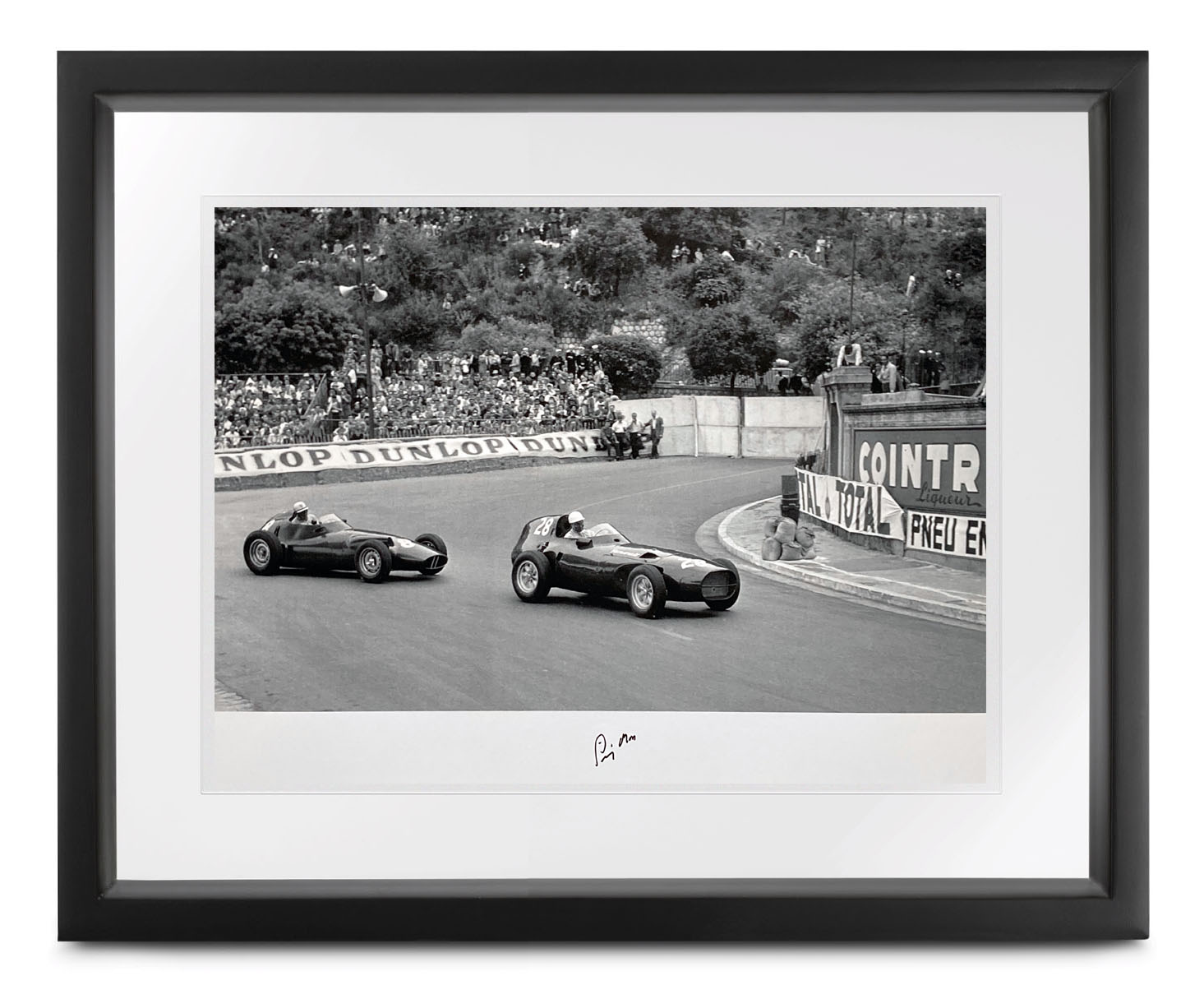 Product image for Monaco Collection | 1958 Grand Prix | signed Stirling Moss | Lithographic print