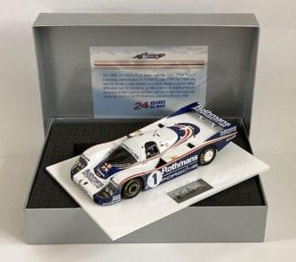 Product image for Porsche 956 | Le Mans winner | signed Derek Bell | 1:18 Box Set