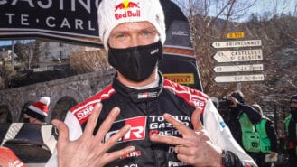 2021 Monte Carlo Rally: Ogier bounces back for record eighth win