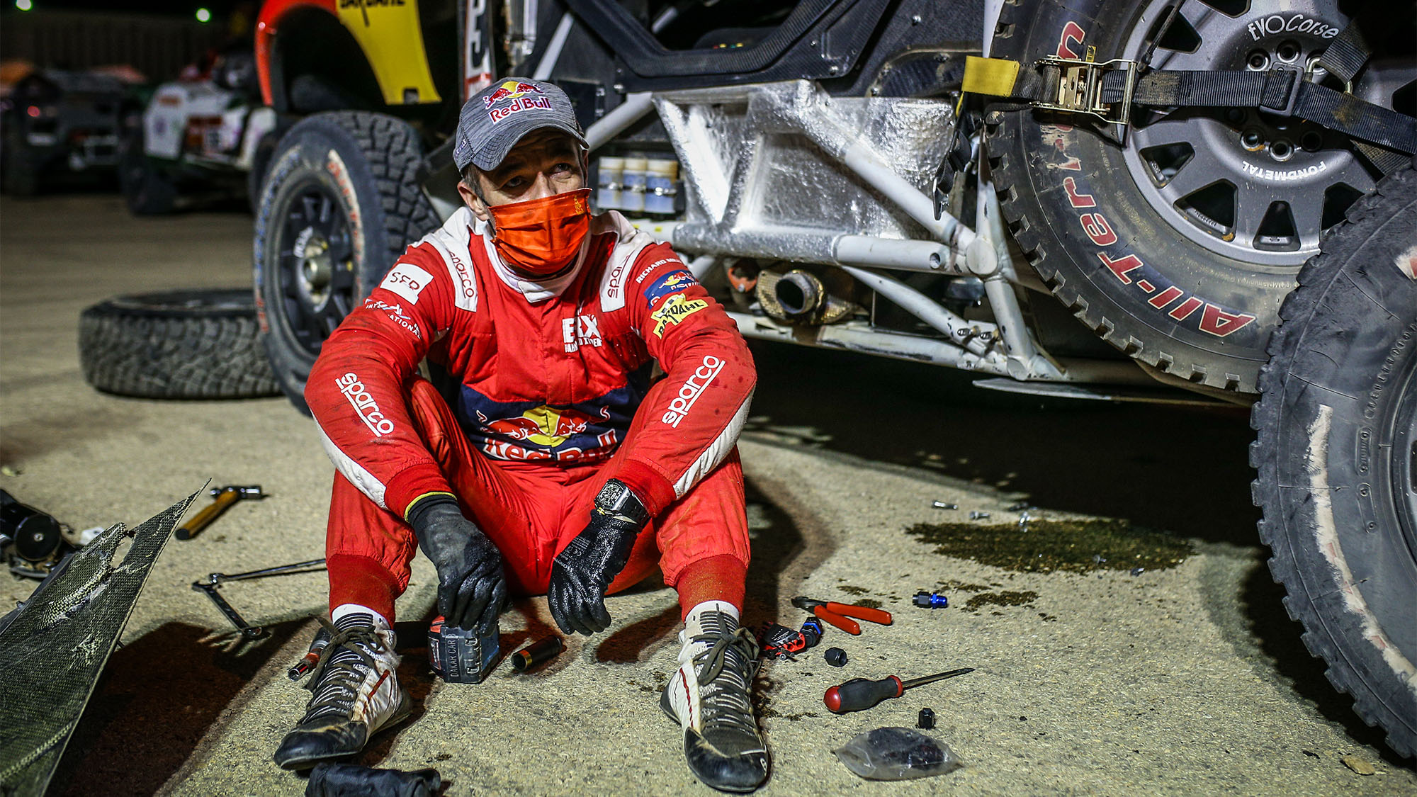 Stuck in the desert for 10 hours — twice: Sébastien Loeb on his nightmare Dakar 2021