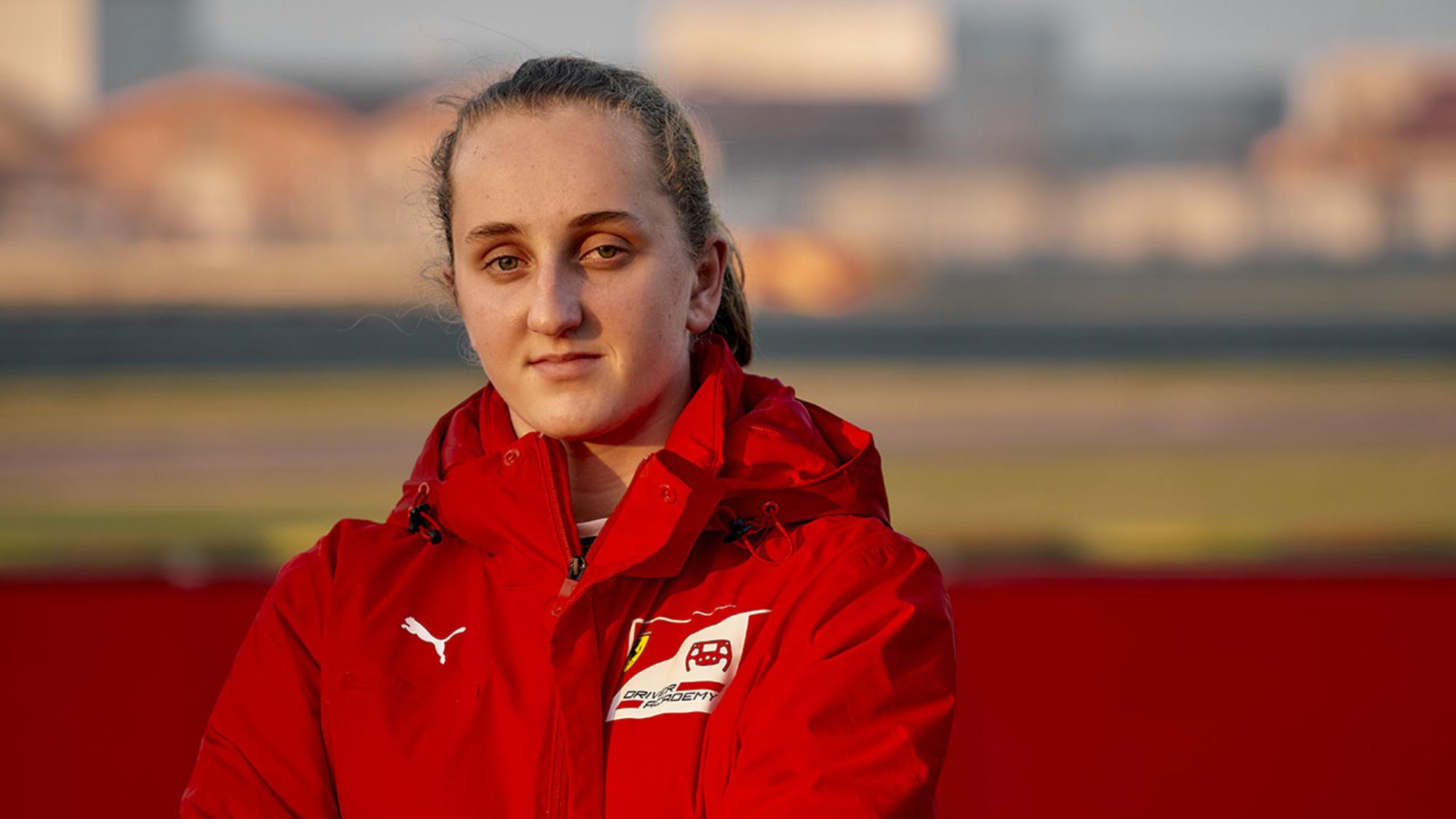 Why Maya Weug has a shot at F1 as Ferrari's first female Academy driver