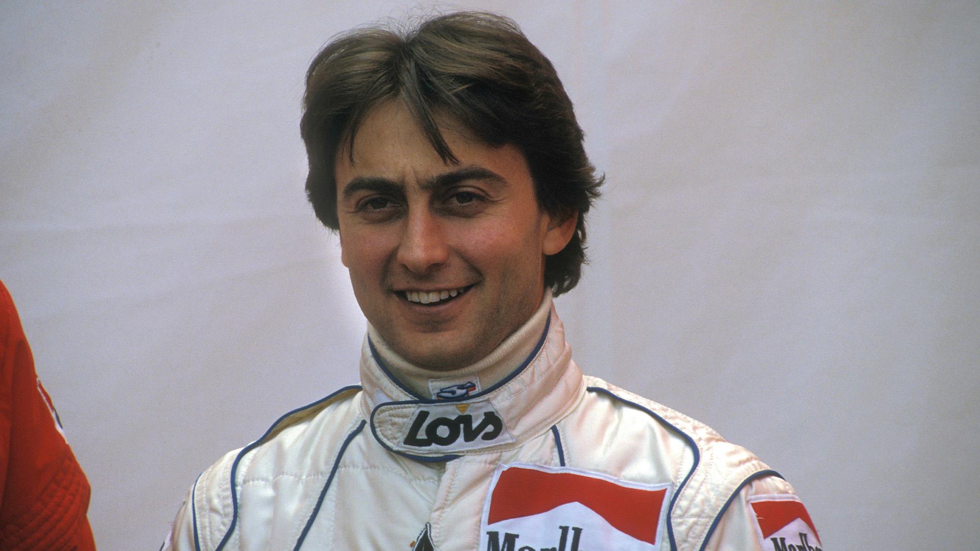 Adrian Campos as a Minardi F1 driver