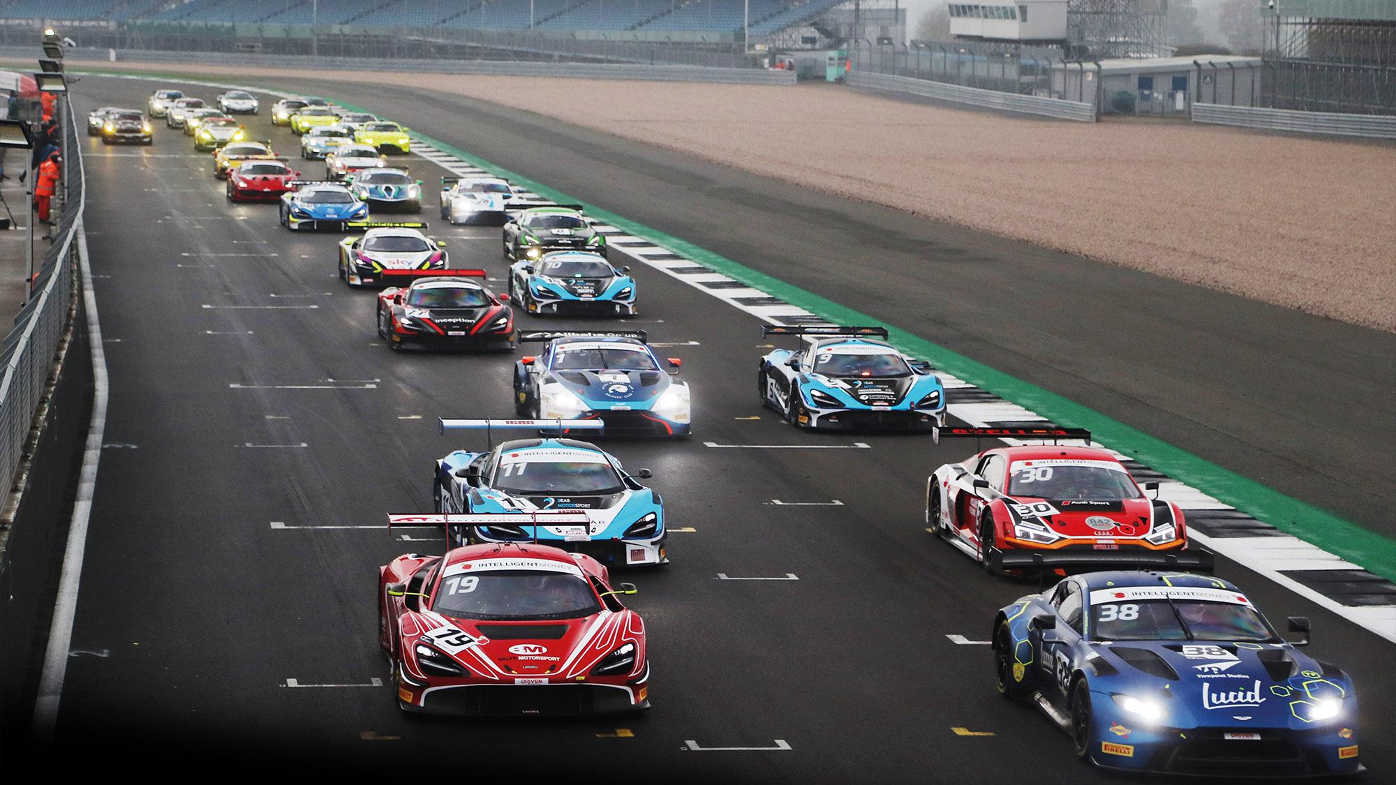 2020 British GT Championship grid