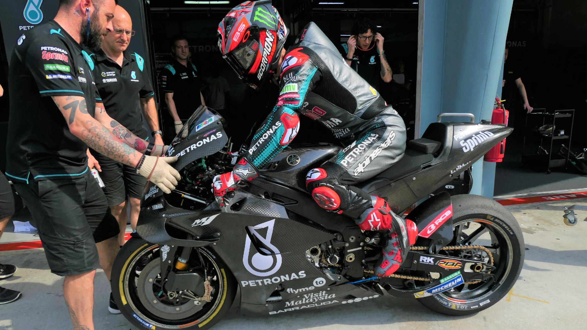 Fabio Quartararo, 2020 Sepang MotoGP test