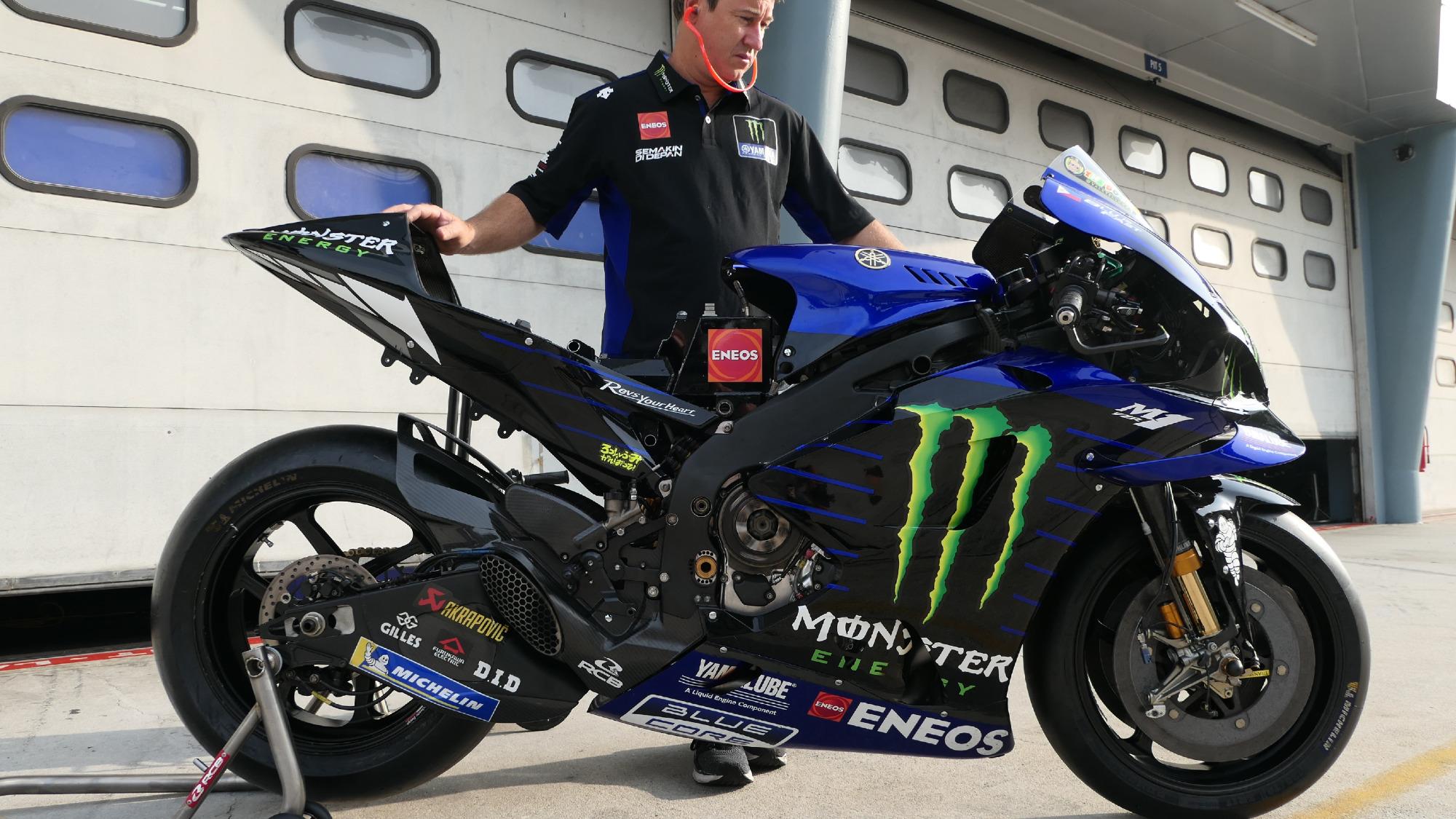 Yamaha YZR-M1, 2020 Sepang MotoGP test