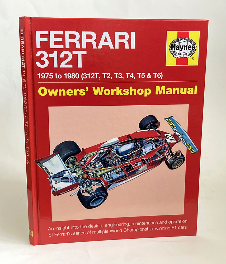 Product image for Jody Scheckter signed | Ferrari 312T | Haynes Owners Manual
