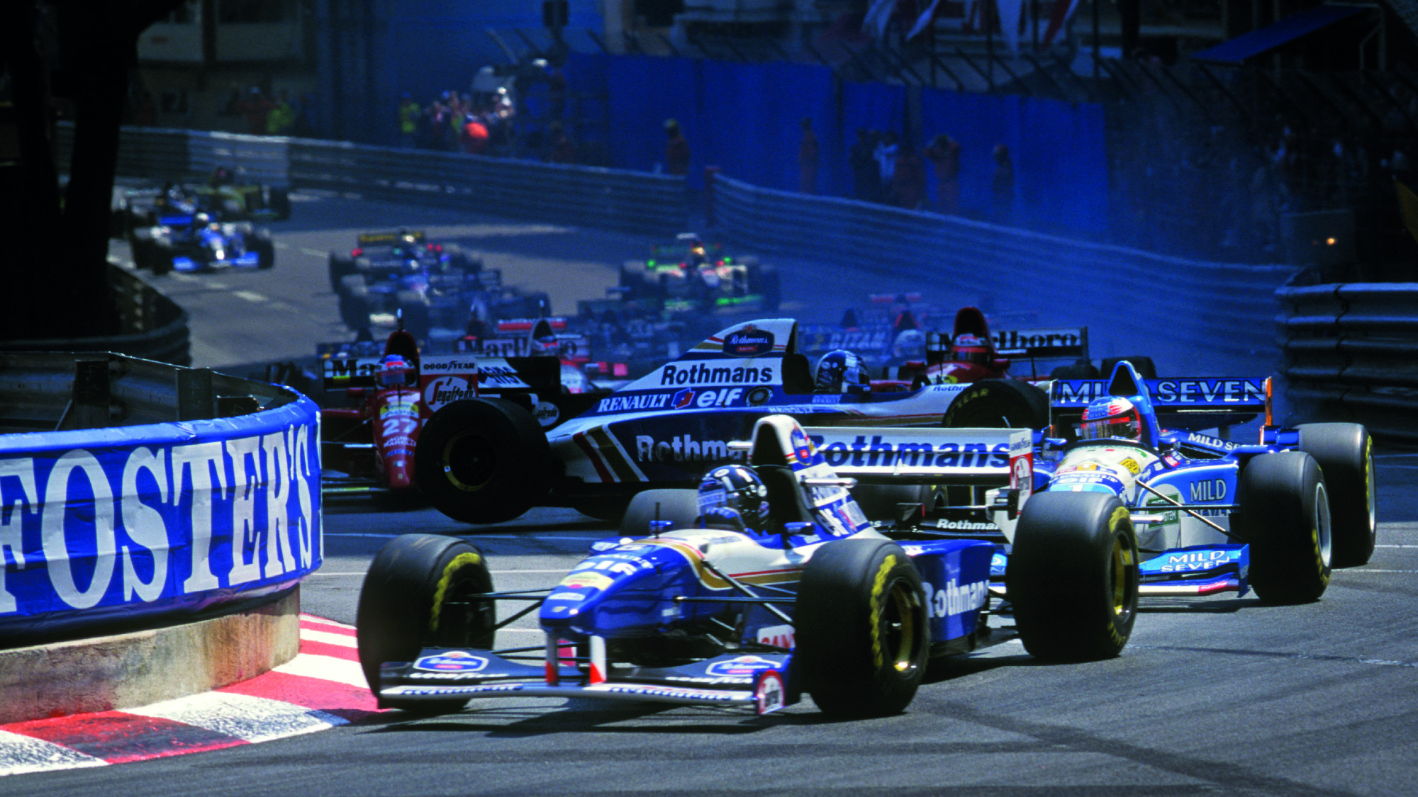Damon Hill, Monaco GP 1995