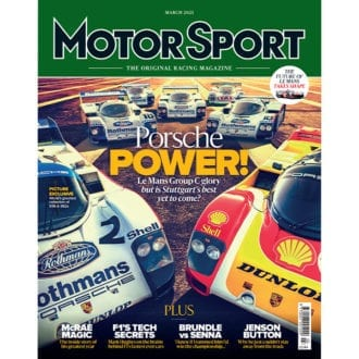 Product image for March 2021 | Porsche Power | Motor Sport Magazine