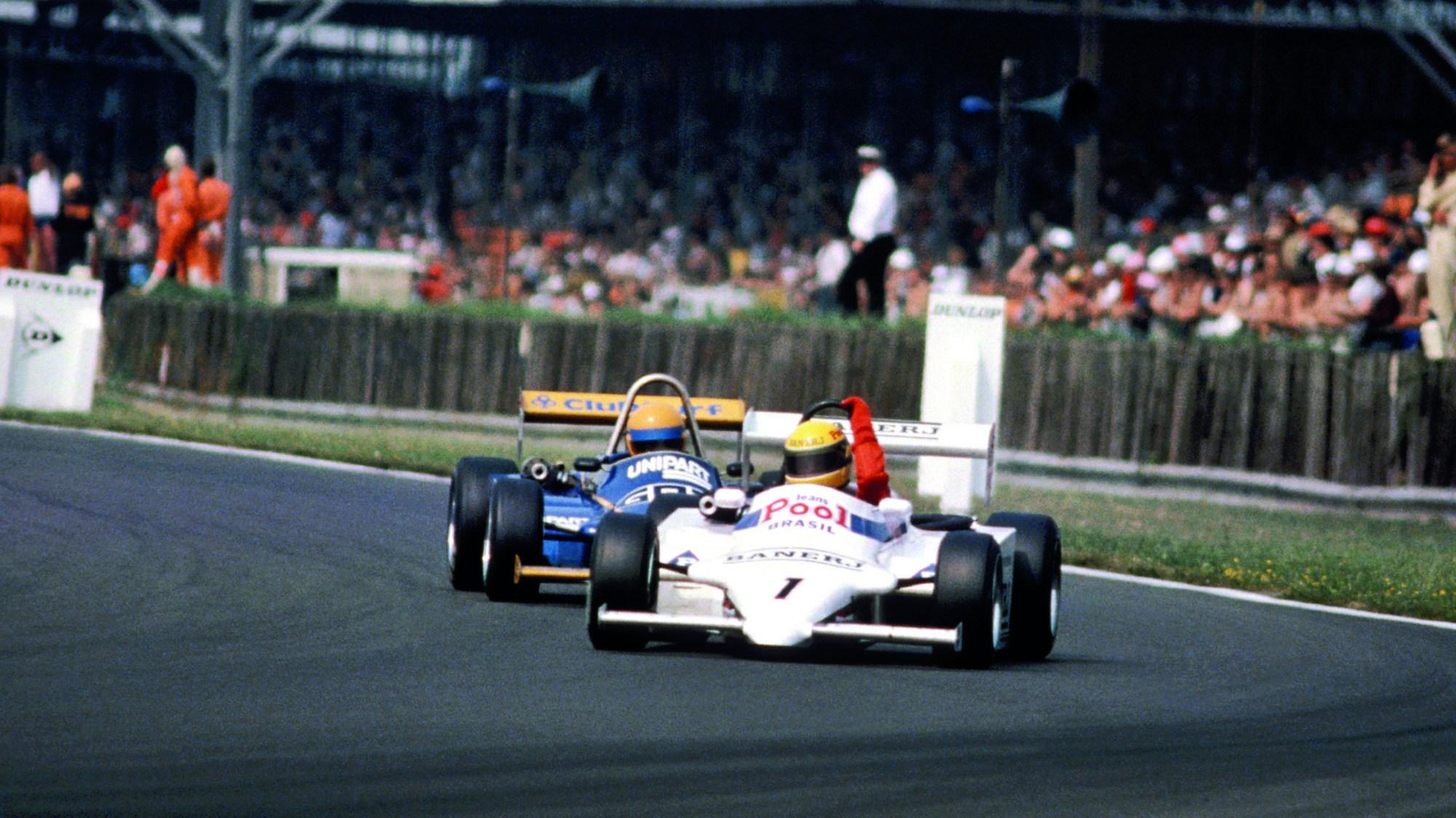 Ayrton Senna, British F3 1983