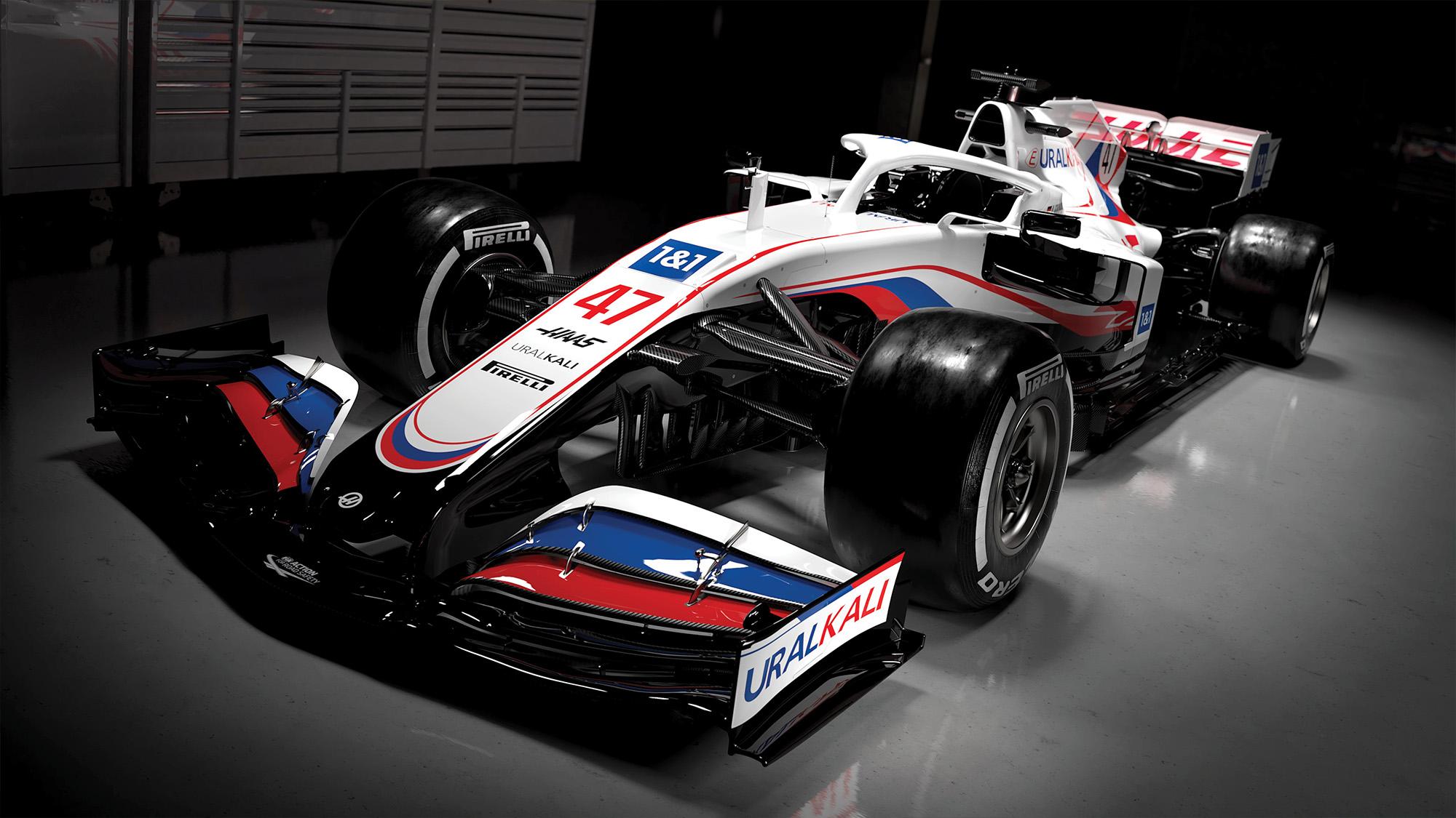 Haas 2021 livery