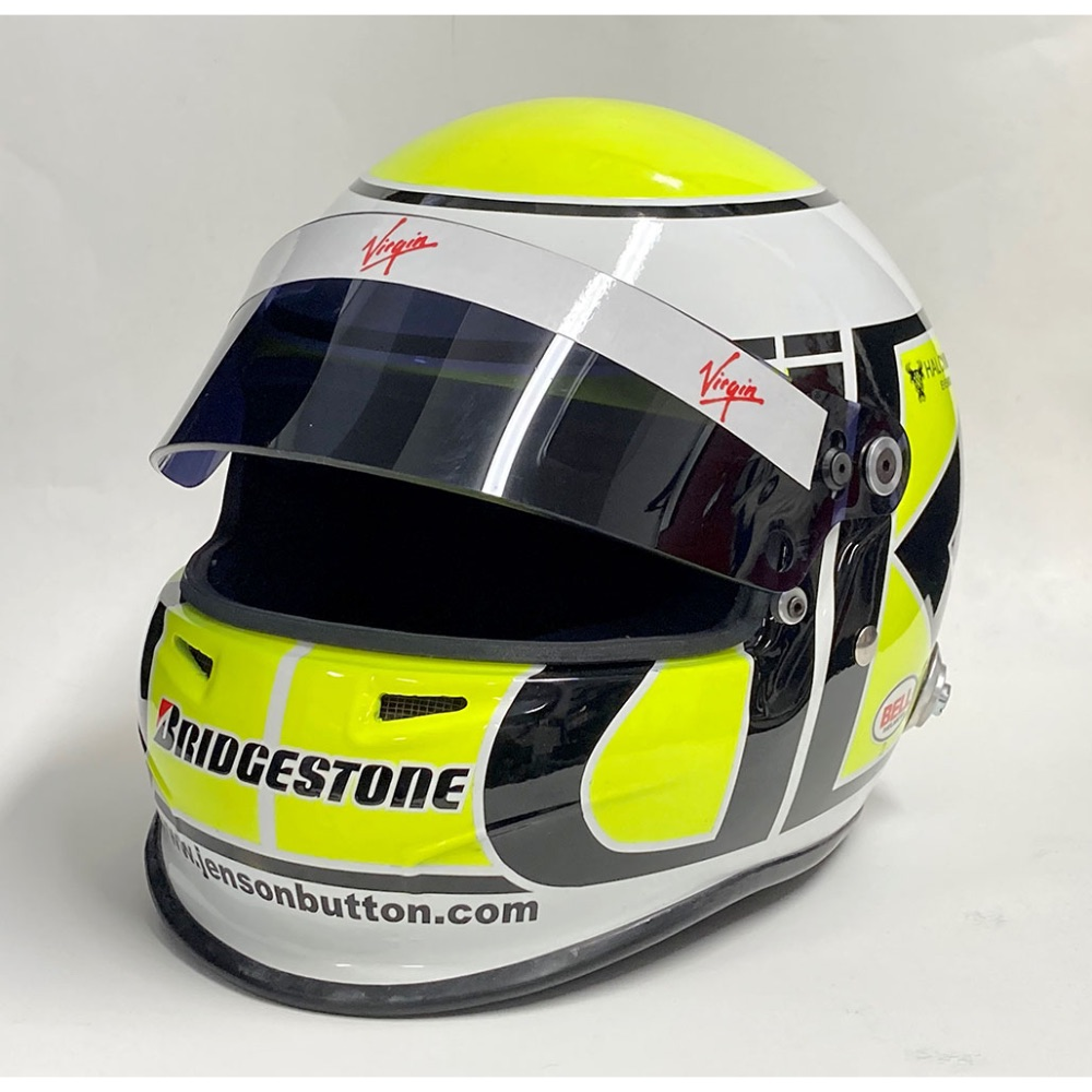 Product image for Jenson Button helmet | Brawn F1, 2009 | Full-size helmet