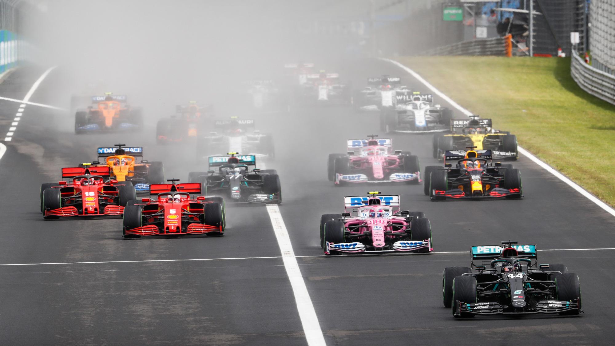 2020 Hungarian GP start