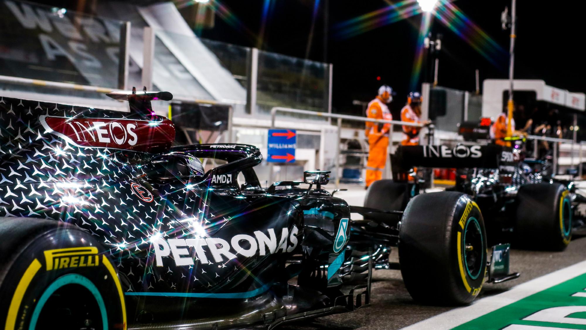 Mercedes W11, Lewis Hamilton Bahrain GP