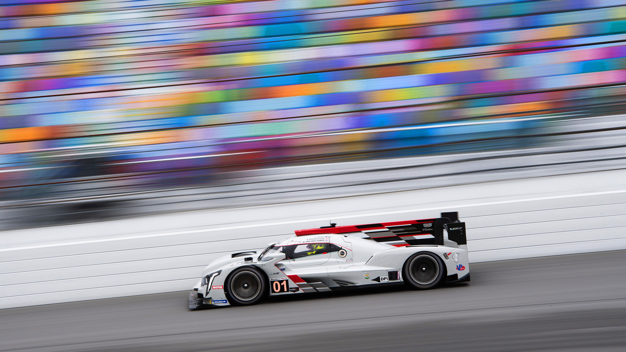 Kevin Magnussen/Renger van der Zande during practice for the 2021 Daytona 24 Hour race. Photo: Jamey Price/Grand Prix Photo