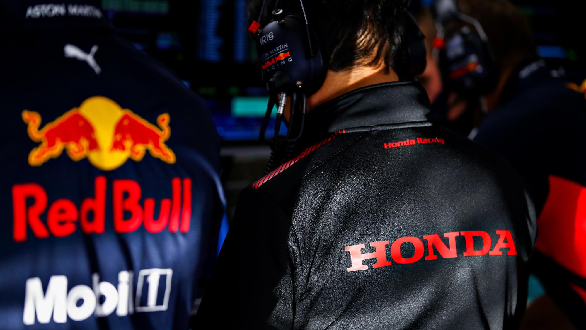 Red Bull and Honda F1 jackets
