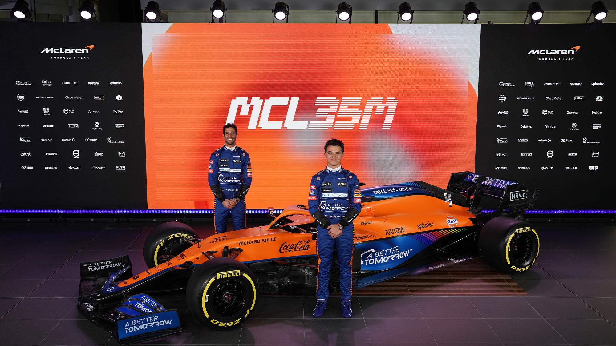 McLaren MCL35M 2