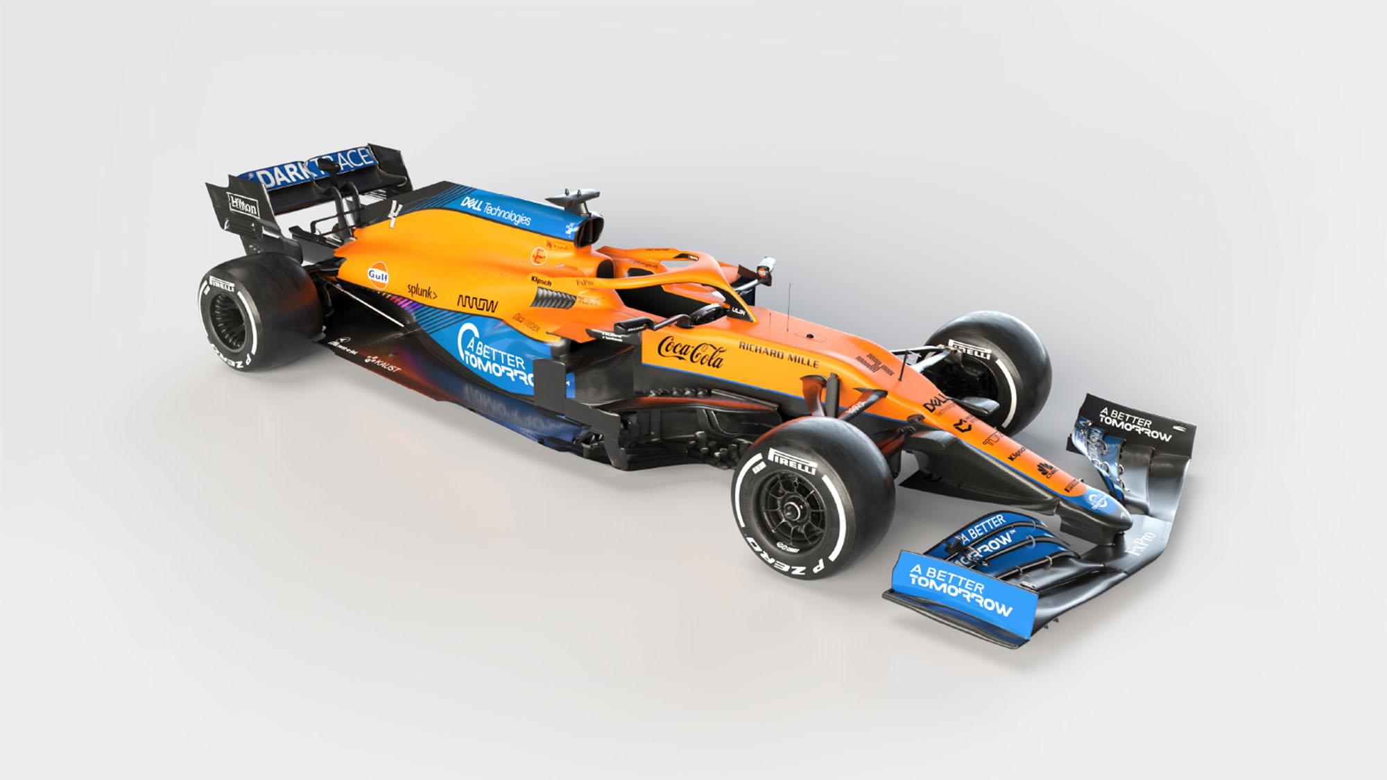 McLaren MCL35M 3