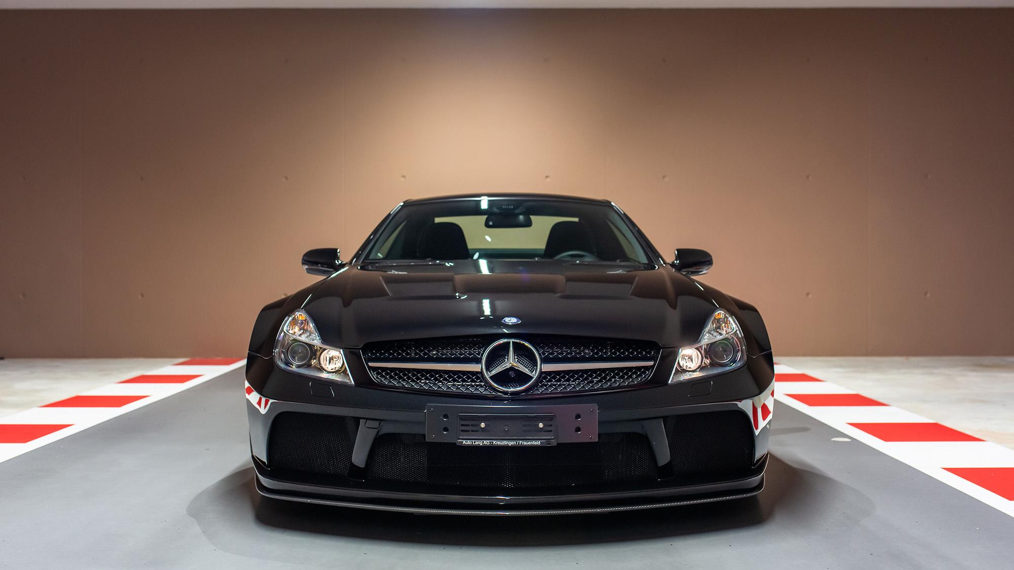 Sebastian Vettel Mercedes SL65