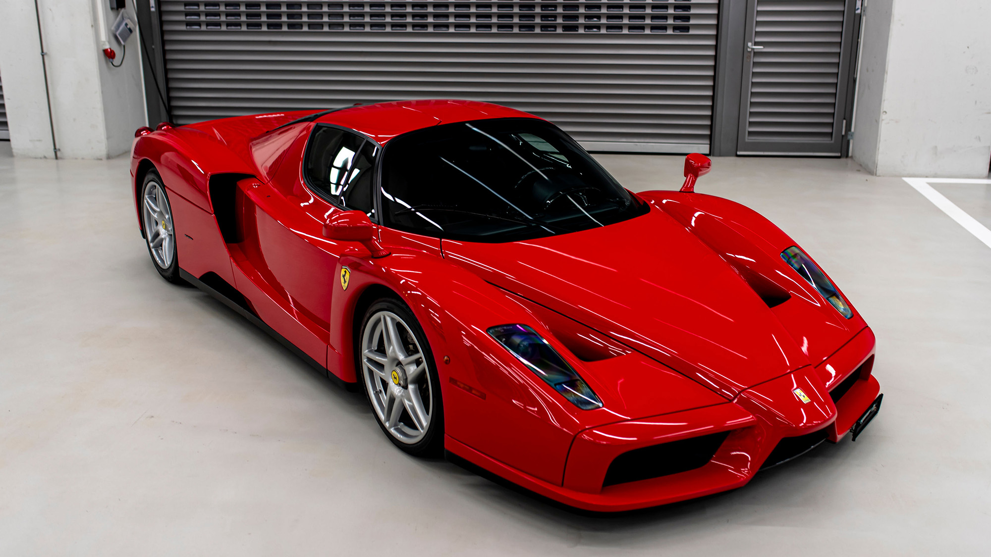 Sebastian Vettel Ferrari Enzo