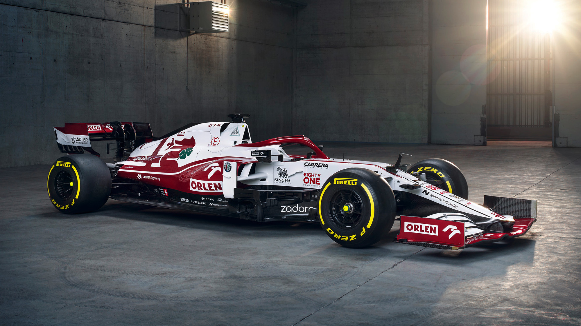 Alfa Romeo reveals 2021 F1 car