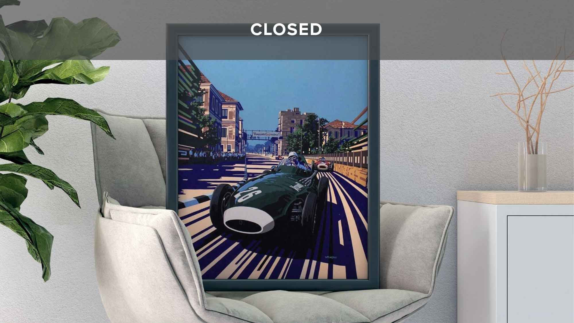 WIN a Stirling Moss print worth £265