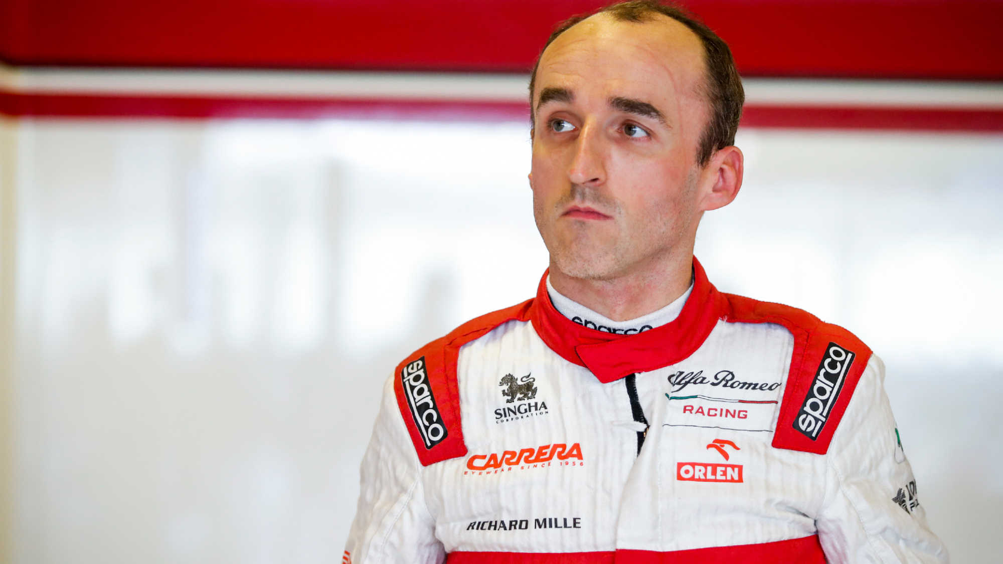 Robert Kubica, 2020 Abu Dhabi post-season test