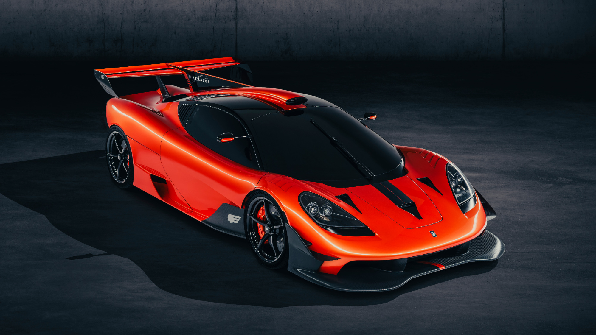 Limited T.50s Niki Lauda edition revealed by Gordon Murray