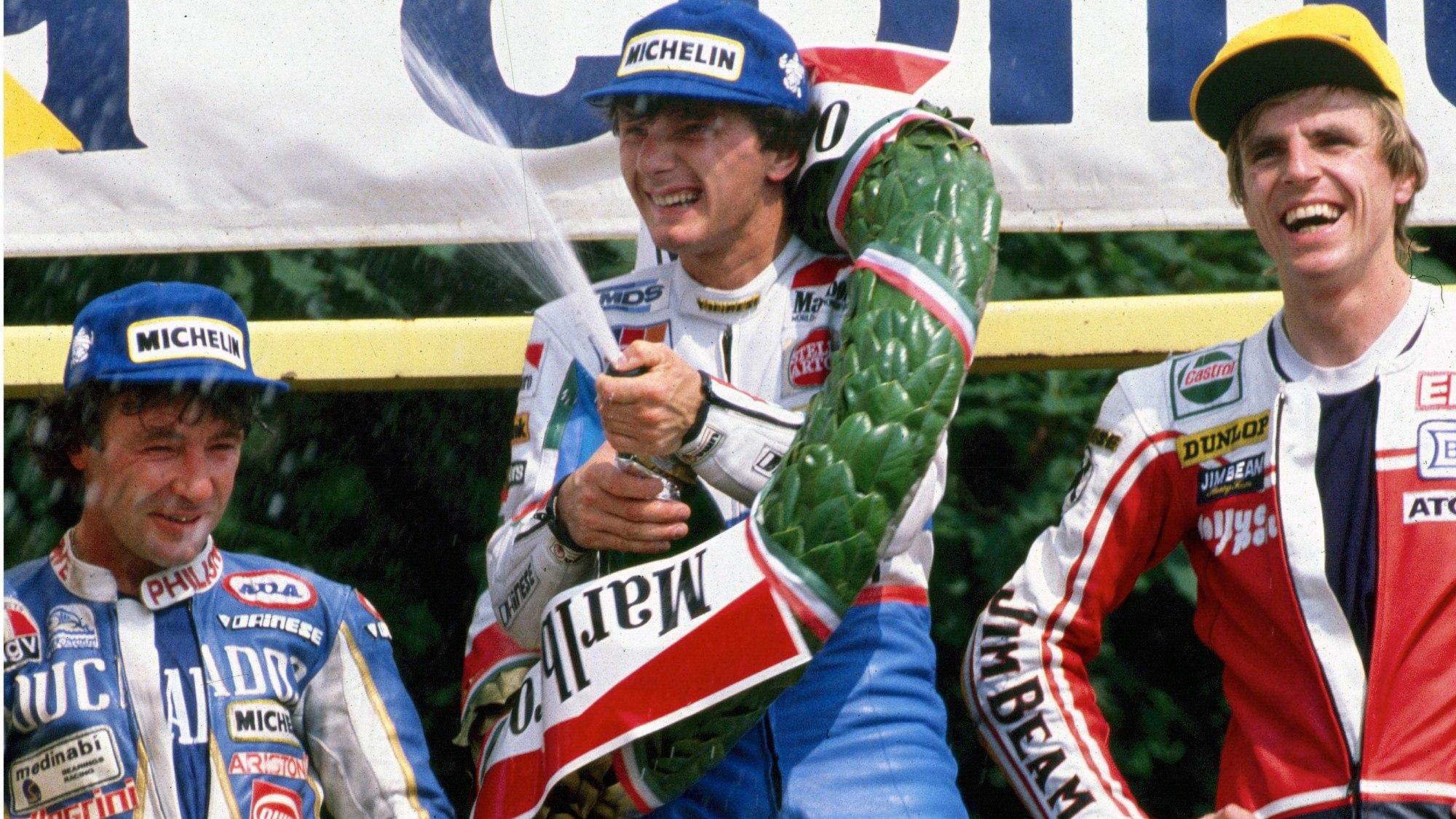 Fausto Gresini, 1986 Italian 125cc