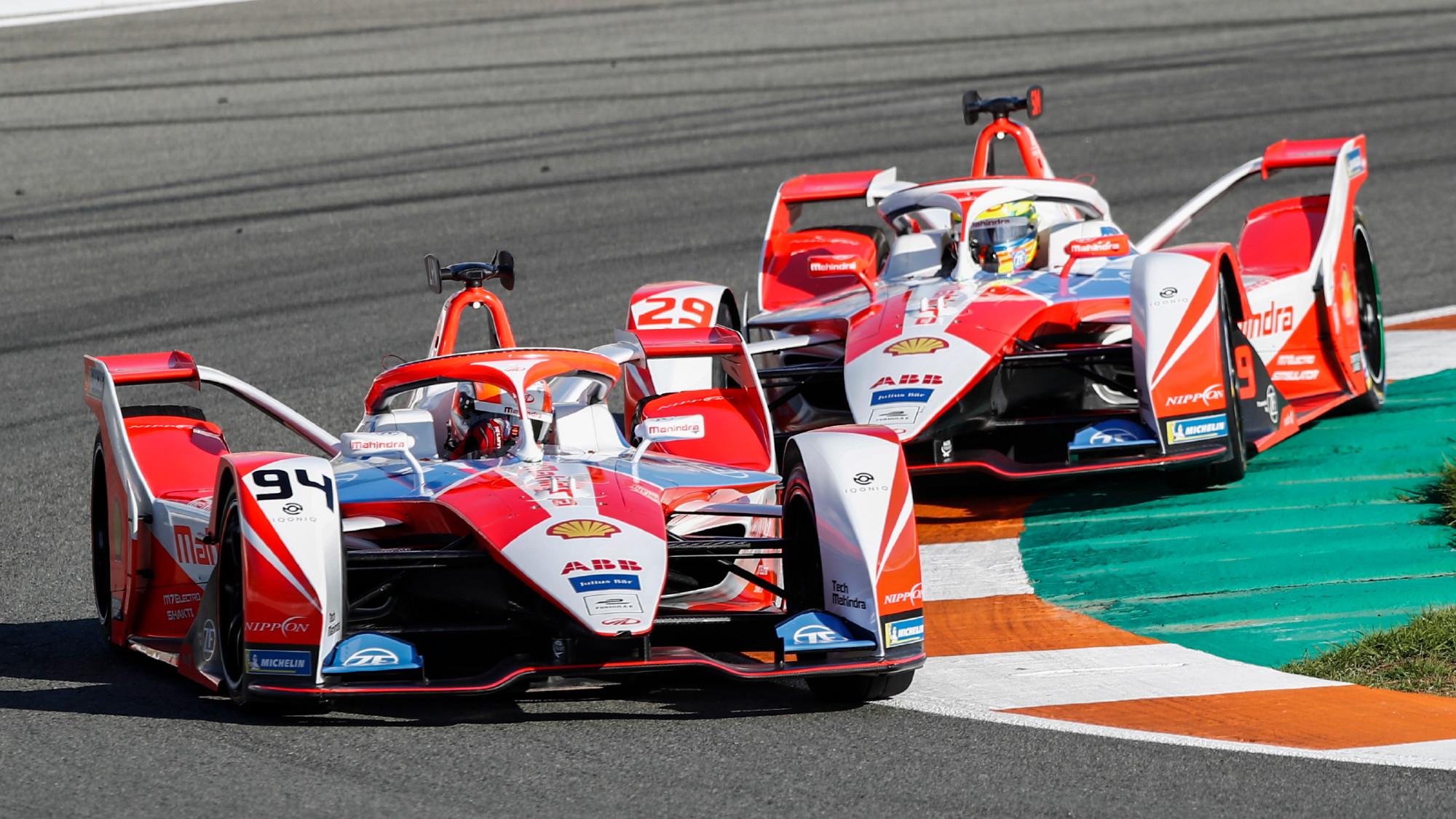 Alexander Sims, Alex Lynn, Mahindra 2021 Formula E
