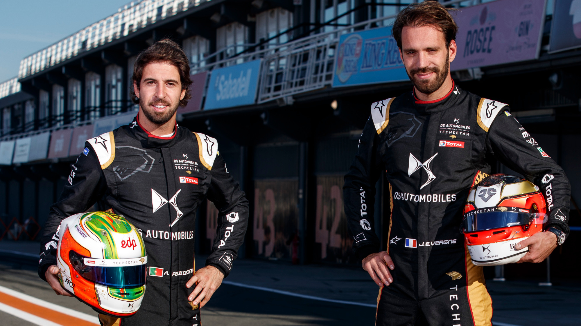 Antonio Felix da Costa and Jean-Eric Vergne