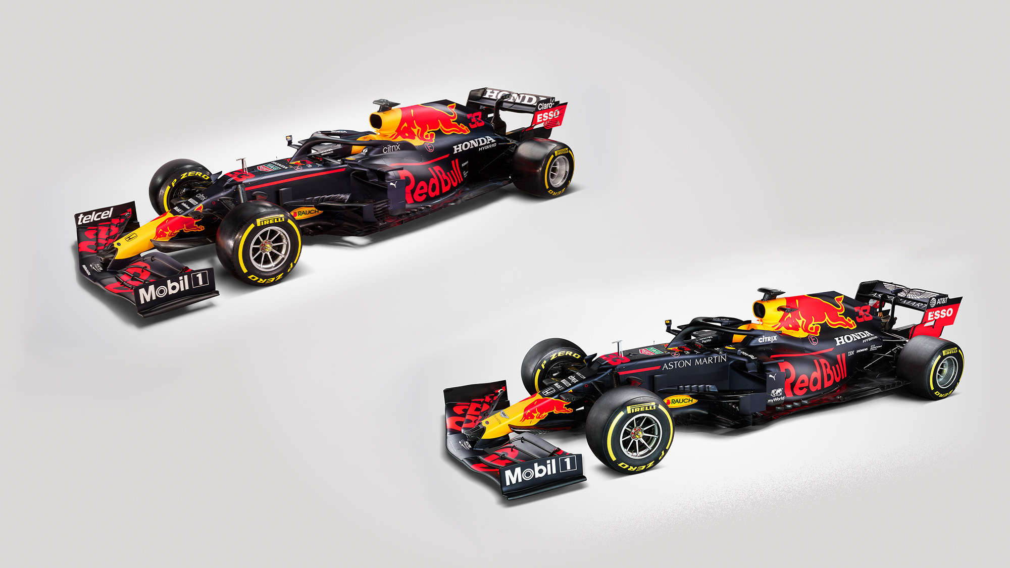 Reb Bull RB16 and RB16B