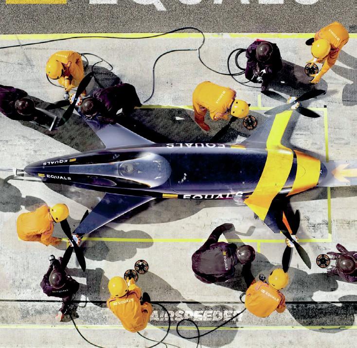 Airspeeder pitstop