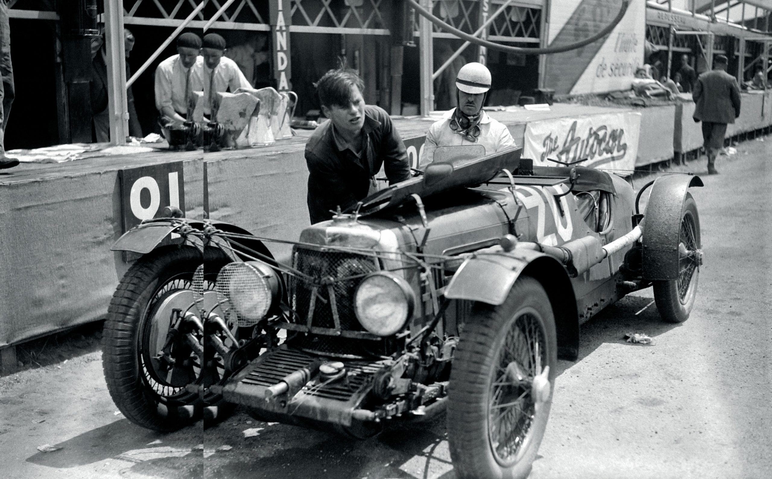 Aston Martin LM10 at Le Mans in 1932