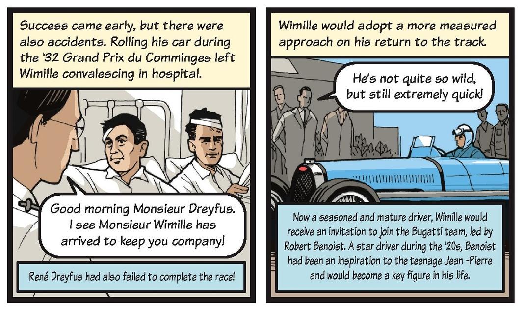 Jean-Pierre Wimille life story strip 2