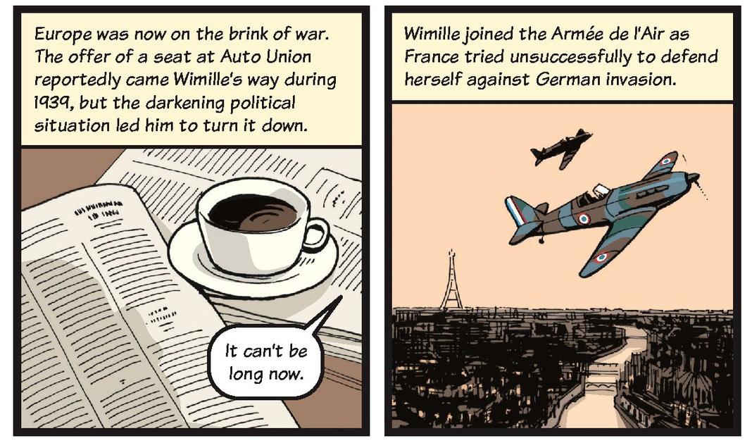 Jean-Pierre Wimille life story strip 4