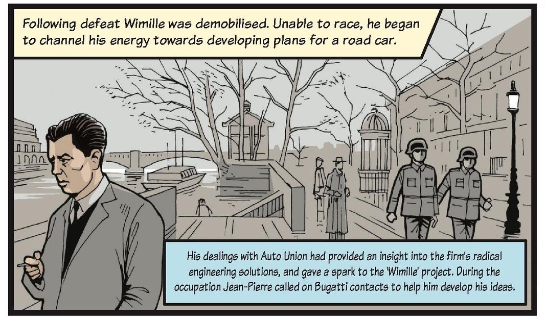 Jean-Pierre Wimille life story strip 5