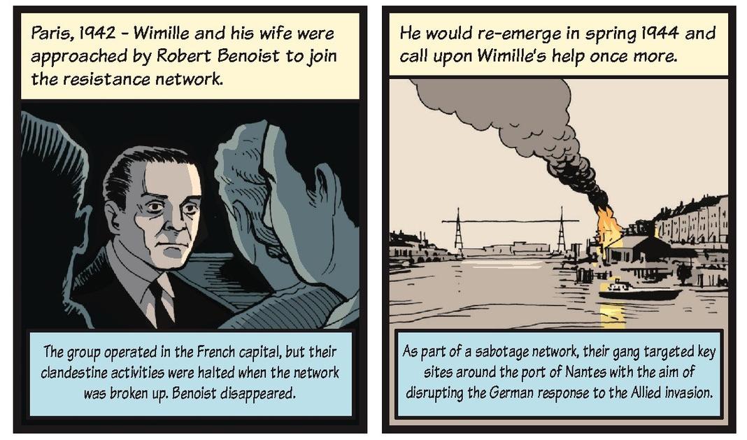 Jean-Pierre Wimille life story strip 6