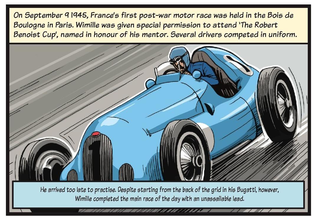 Jean-Pierre Wimille life story strip 8