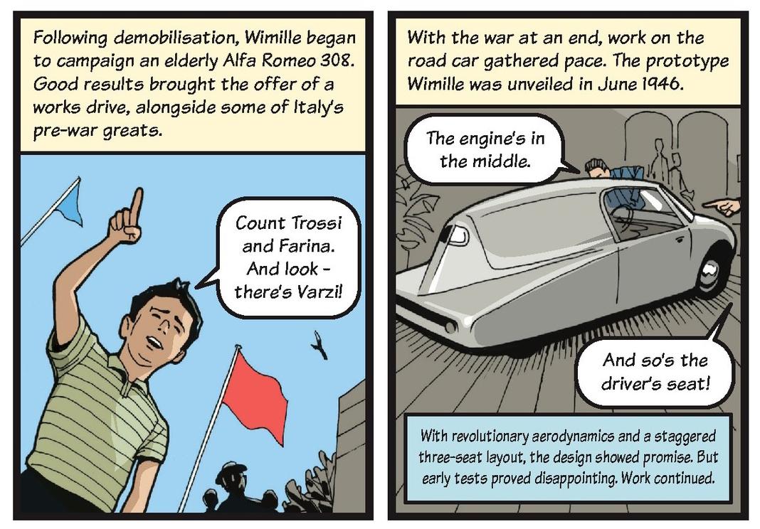 Jean-Pierre Wimille life story strip 9