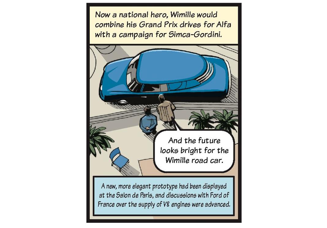 Jean-Pierre Wimille life story strip 11