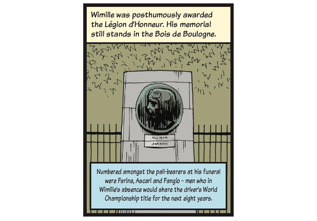 Jean-Pierre Wimille life story strip 13