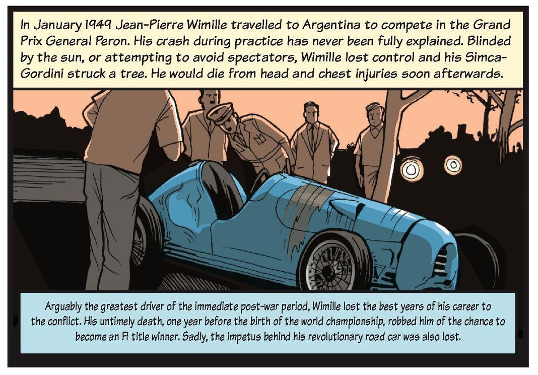 Jean-Pierre Wimille life story strip 12
