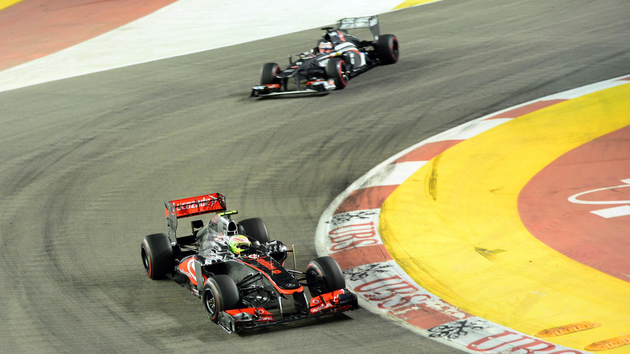 Sergio Pérez en McLaren en 2013