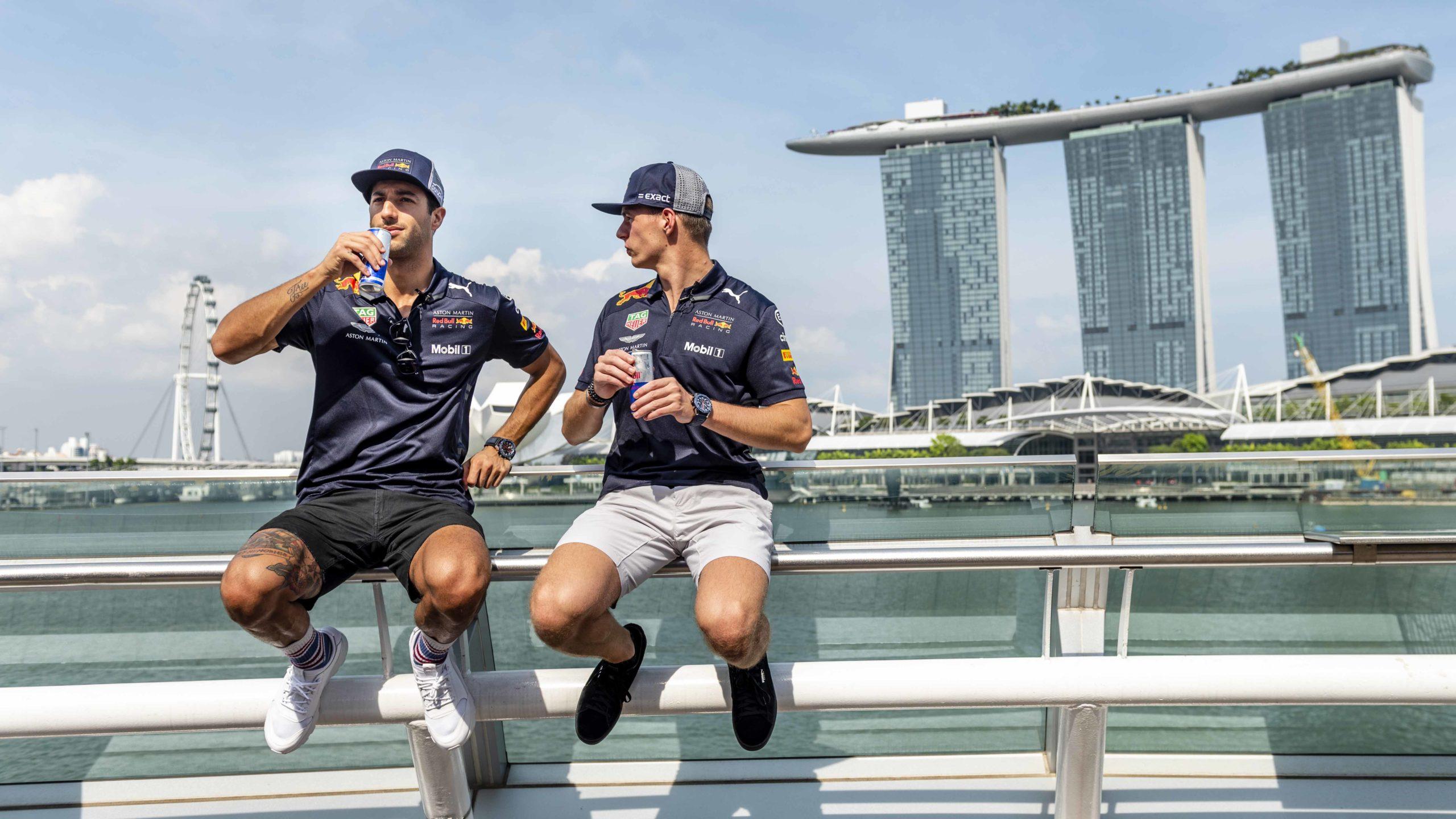 Daniel Riccardo and Max Verstappen - Lifestyle
