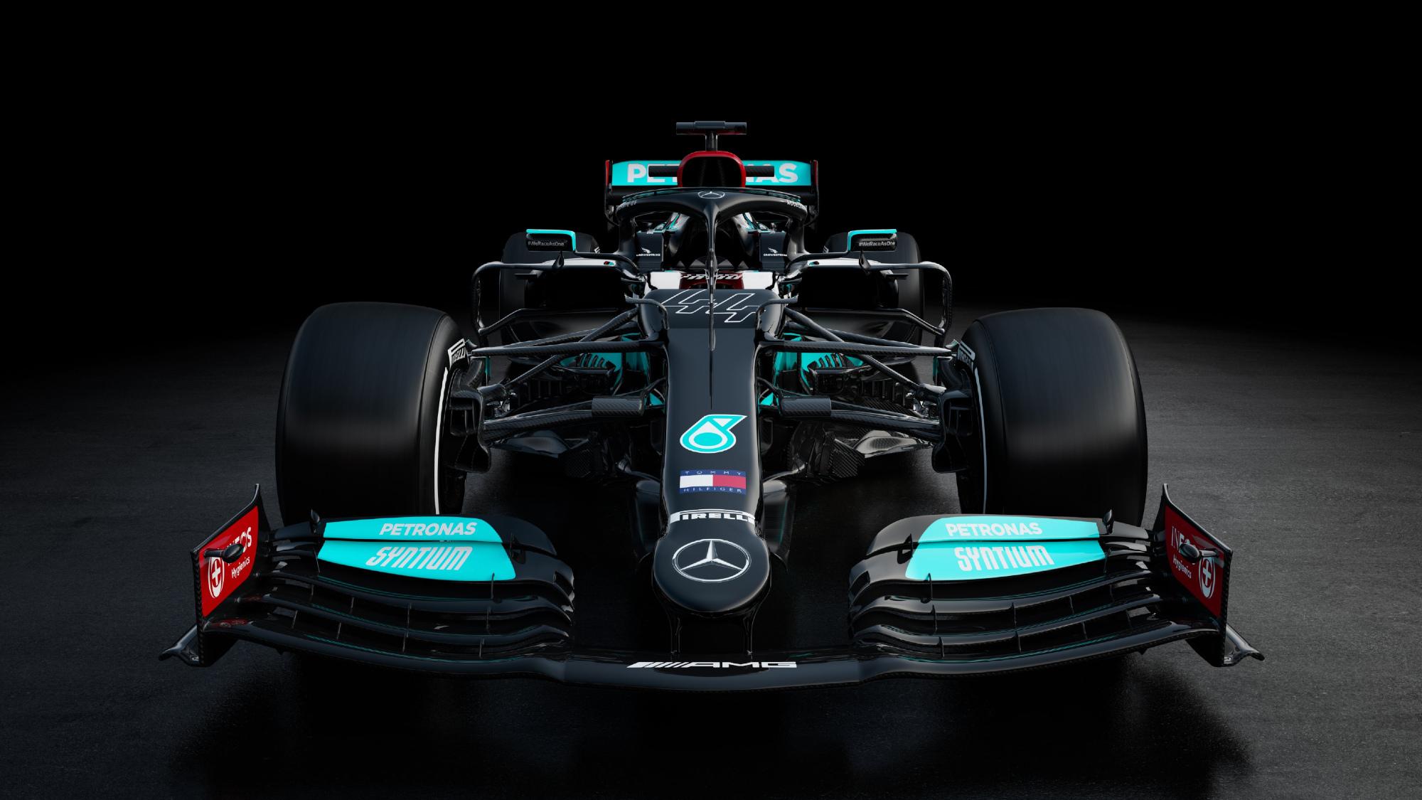 Mercedes W12 2021 F1 car
