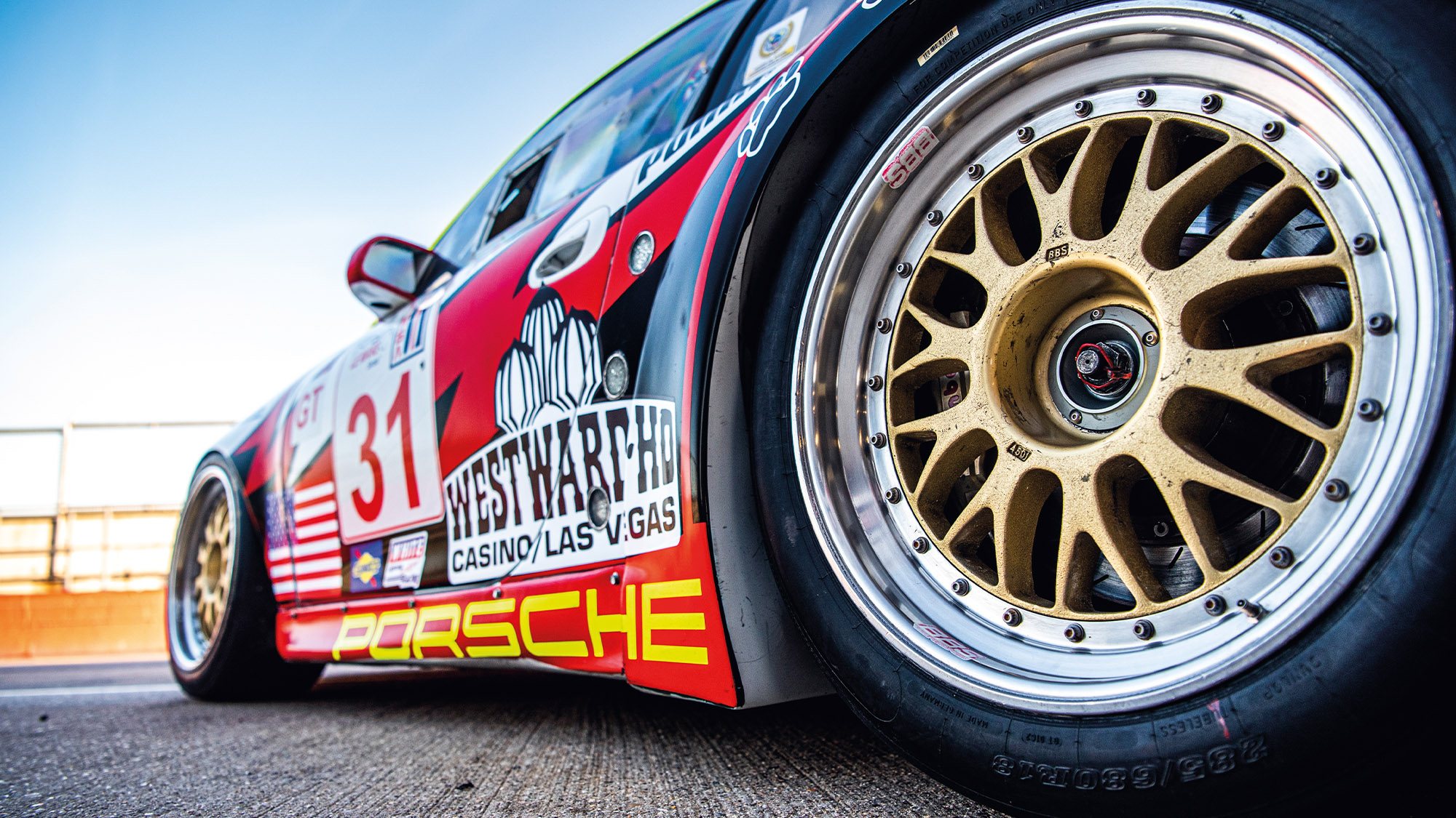 Porsche 911 GT3 RS GT2 rear wheel