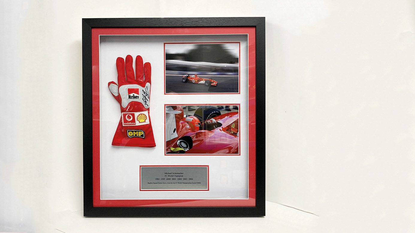 Michael Schumacher gloves