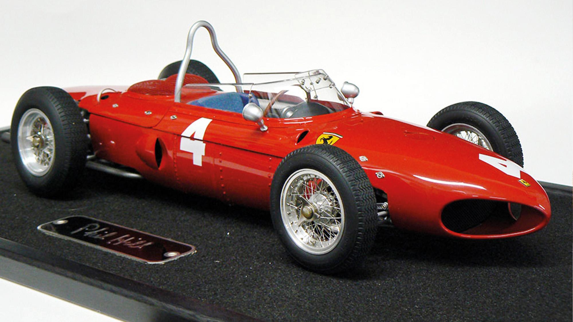 Phil Hill Signed Ferrari model tq