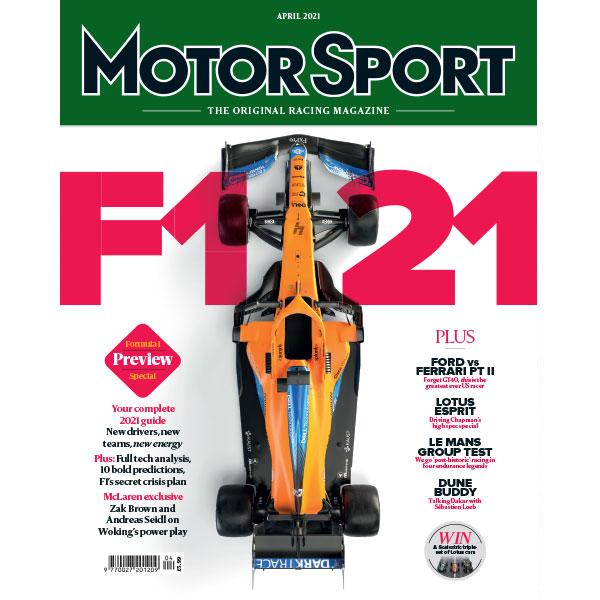 F121 Motor Sport Magazine, April 2021 Issue