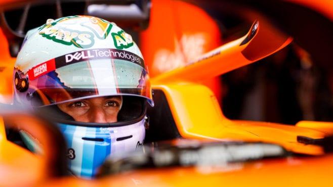 The car Daniel Ricciardo will drive if he wins McLaren podium bet